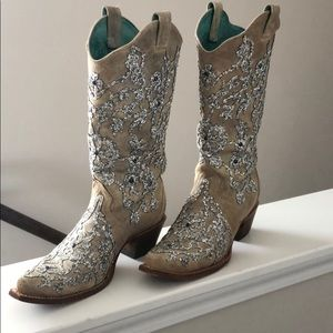 Corral sparkly cowgirl boots